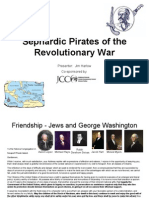 Sephardic Pirates of the Revolutionary War