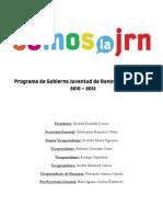 Programa de Gobierno SOMOS LA JRN2