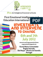 First Emotional Intelligence and Education International Congress 2012