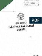 """Nesefî'nin """"Tabsıratü'l- Edille""""sinde Kaza ve Kader1985_1_TOPRAKS"""