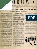 Spgb Forum 1953 6 Mar