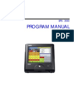 Sam4s SPS-2000 Program Manual
