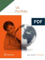 ENOVIA V6 Product Portfolio