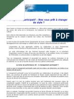 Article Sur Les Enjeux Du Management Participatif