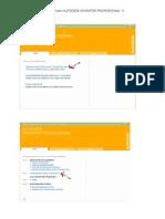Pasos a Seguir Para Instalar Autodesk Inventor Professional 11