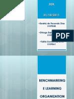 Bench Marking e Learning Organization