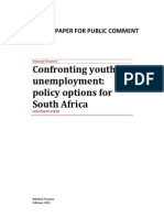 Confronting Youth Unemployment Policy Options for South Africa