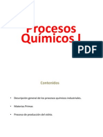 Clase de Procesos químicos 1ª parte  PDF