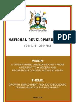 Uganda_PRSP | Poverty Reduction | Economic Growth