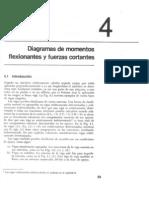 Capitulo 04 - Diagramas de Momentos Flexionantes y Fuerzas Cortantes
