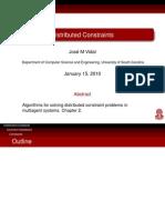 Distributed Constraints Slides