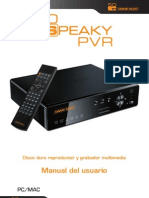 User Manual So Speaky PVR SP