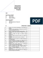 Management Information Systems Implementation for Financial Institutions - RFP Template