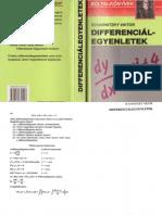 2001 - Differencialegyenletek
