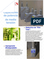 Capacitores de Media Tension