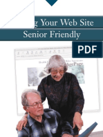 Senior Friendly Website