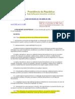 Decreto Federal 85878-81 Lei 3820-60