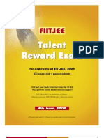 FIITJEE Talent Exam 2009