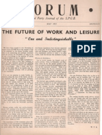 Spgb Forum 1953 8 May