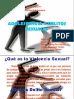 Adolescencia y Delito Sexual