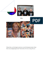 JK Rowling is not a plagiarist