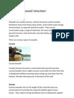 Types of Coastal Structure Mjay