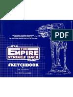 The Empire Strikes Back Sketch Book