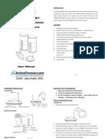 Audio Unlimited Wireless Speakers Manual