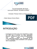 Slides TCC - Arrastão do Bem - Walter Gleisson