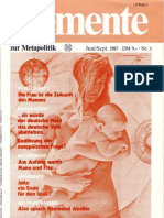 ELEMENTE zur Metapolitik - Issue 3