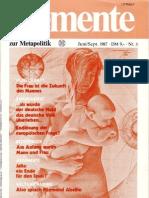 ELEMENTE zur Metapolitik - Issue 3