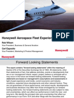 Aerospace Fleet Experience Presentation 120911