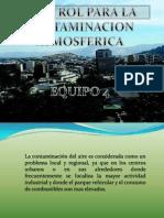 Control de Contaminacion Atmosferica