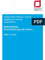 11  bsbwor203a work effectively with others v2