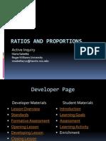 Ratios Proportions