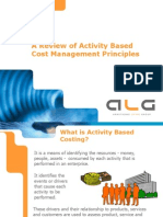 A Review of Activity Based Cost Management Principles
