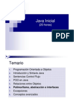 Curso Java Inicial - 6 Polimorfismo, Abstracción e Interfaces