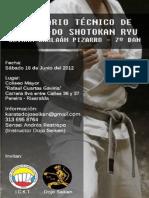Seminario Técnico de Karate-Do Shotokan Ryu