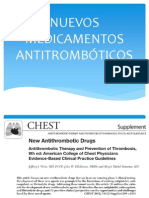 Nuevos antitromboticos