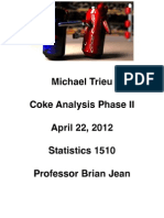 Coke Analysis Phase II