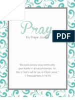 Prayer Journal by amylizschultz.com