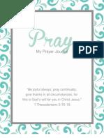 Prayer Journal by amylizschultz.com