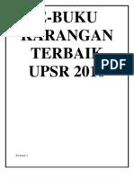 Karangan Terbaik UPSR (Drpd E-Buku)