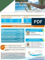 Vacaciones Latinolvidables 2012 - Volante