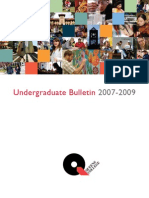 Undergrad Bulletin 07 09