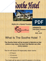 The Soothe Hotel Business Plan Presentation Ppt (1)