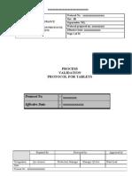 Tablet Process Validation