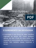sociologia e positivismo