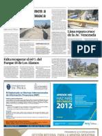 EL COMERCIO | Vecinos se oponen a obra cerca de huaca