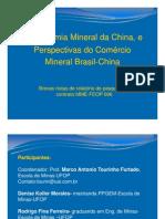 Palestra MME Economia Mineral Da China Perspectivas